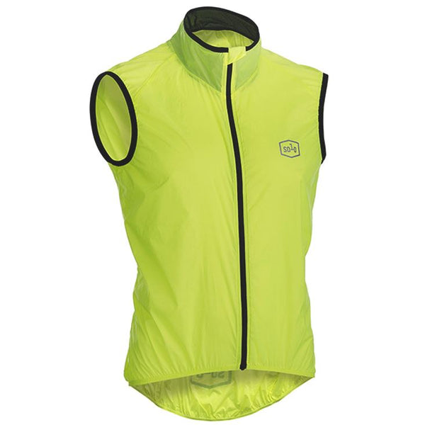 Solo Lightweight Cycling Vest Yellow - Pitcrew.nz