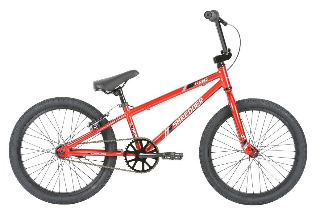 "Haro BMX Shredder 20"" Neon Red"