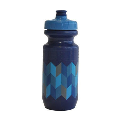Zero Chevron drink bottle 620ml blue