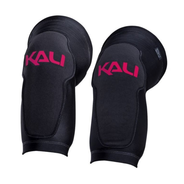 Kali Mission Black red Knee guards - Pitcrew.nz