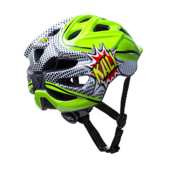 Kali Chakra Pow Childs Helmet Green Black - Pitcrew.nz