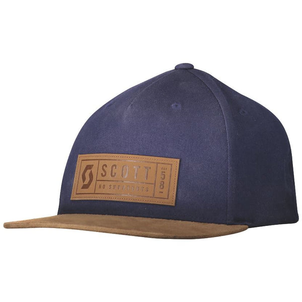 Scott Winter Cap Camel / Blue - Pitcrew.nz