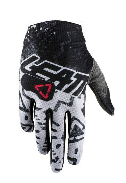 2019 Leatt Gloves GPX 1.5 JR Tech White - Pitcrew.nz