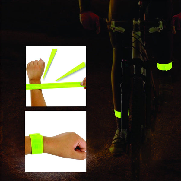 Reflective Snap Band Wrist / Ankle (Pair) - Pitcrew.nz
