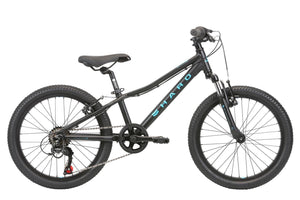 "2020 Haro Flightline 20"" Black / Aqua - Pitcrew.nz"