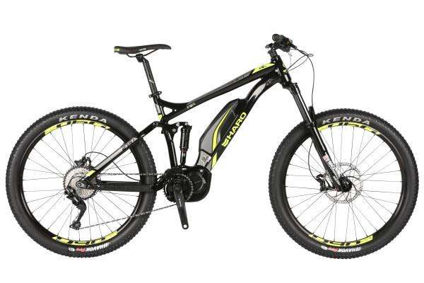 2019 Haro Shift Plus I/O 5 Black yellow eBike - Pitcrew.nz