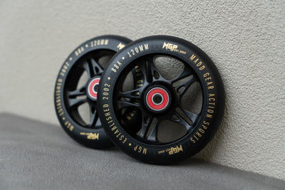 MGP Fuse Scooter Wheel 120mm gold 2 pack - Pitcrew.nz