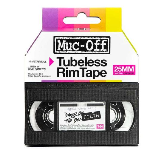 Muc Off Rim tape 10m roll 25mm - Pitcrew.nz