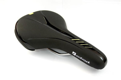 Ontrack Mens Gel Moulded Saddle Blk/Fluro - Pitcrew.nz