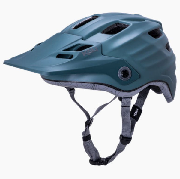 Kali Maya Solid Matt Moss Green Helmet Bike Parts Kali S/M