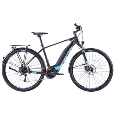 Bike - 2019 Avanti Explorer E Black / Cyan - Pitcrew.nz