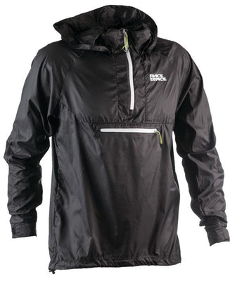 Raceface Nano Jacket Packable Black Mens - Pitcrew.nz