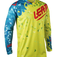 Leatt Jersey GPX 2.5 JR Lime/Teal - Pitcrew.nz