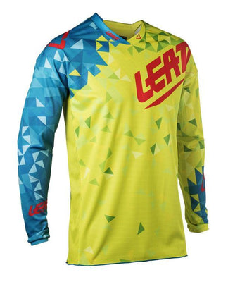 Leatt Jersey GPX 2.5 JR Lime/Teal