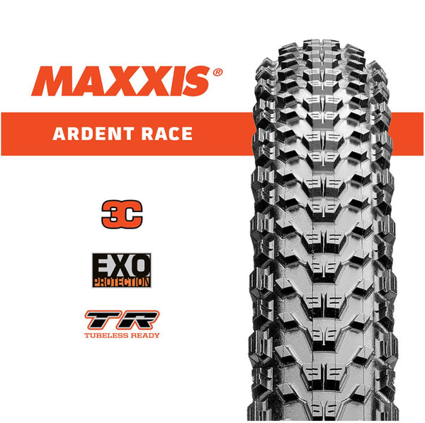 Maxxis Ardent 27.5 x 2.20 Race 3C Exo Tr Maxx Speed Fold Tyre - Pitcrew.nz