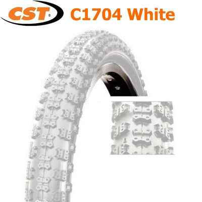 CST 20 x 1.75 White Tyre - Pitcrew.nz