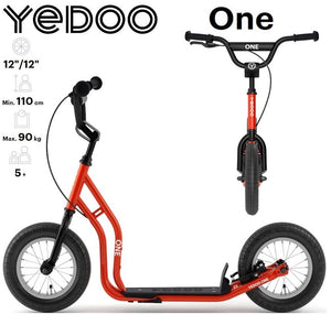 "Yedoo One 12"" kids scooter Red"