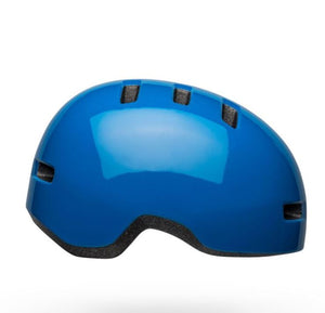 Bell Lil Ripper Gloss Blue Kids helmet - Pitcrew.nz