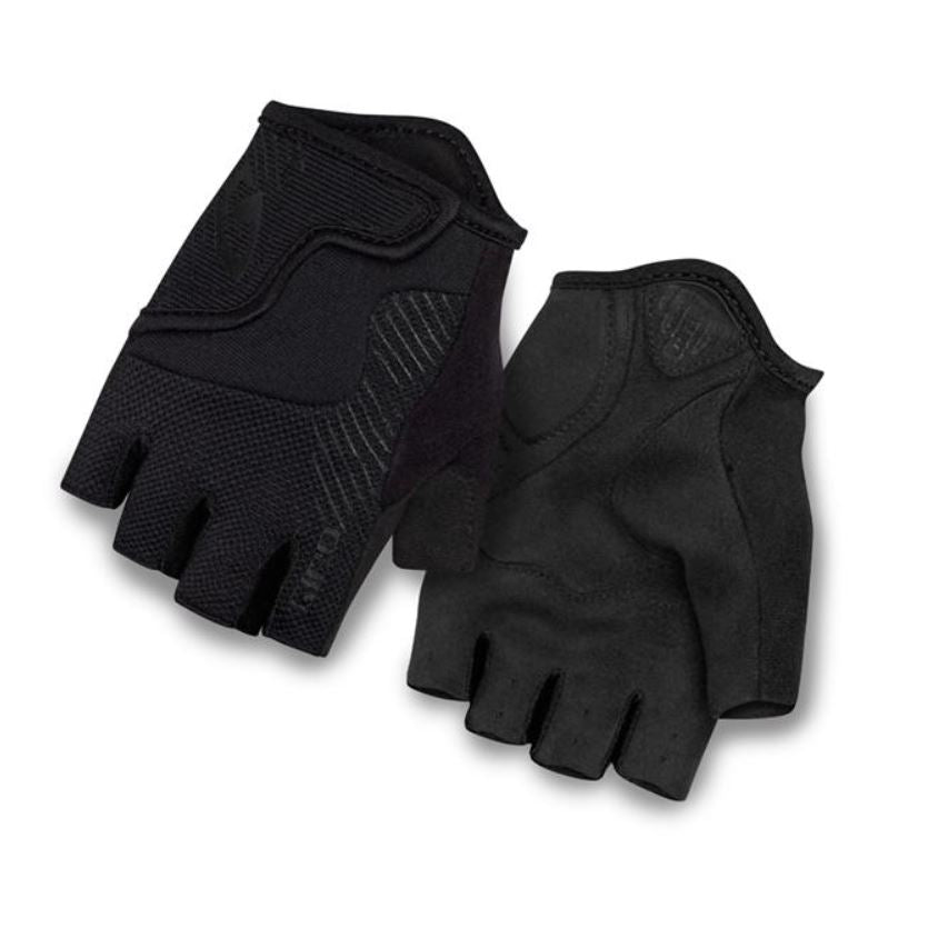Giro Bravo Jr Gloves Mono Black - Pitcrew.nz