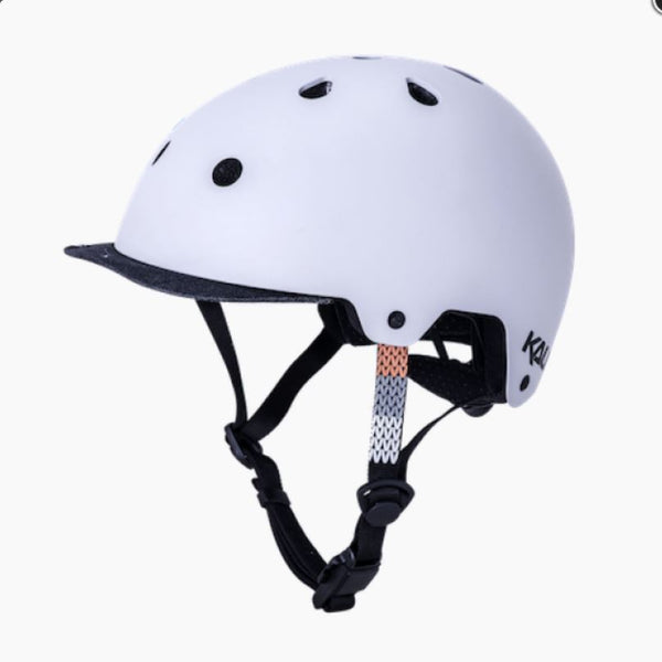 Kali Saha Cozy Matt Grey/Blk Helmet Bike Parts Kali S/M