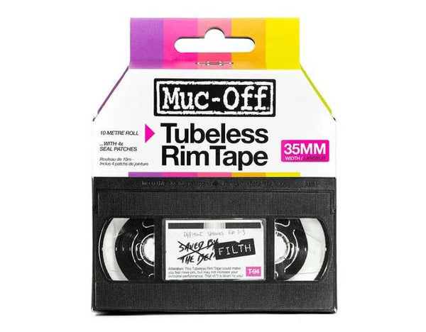 Muc Off Tubeless Rim Tape 10m roll 35mm - Pitcrew.nz
