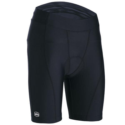 Solo Wmns Sport Cycle Short BLK - Pitcrew.nz
