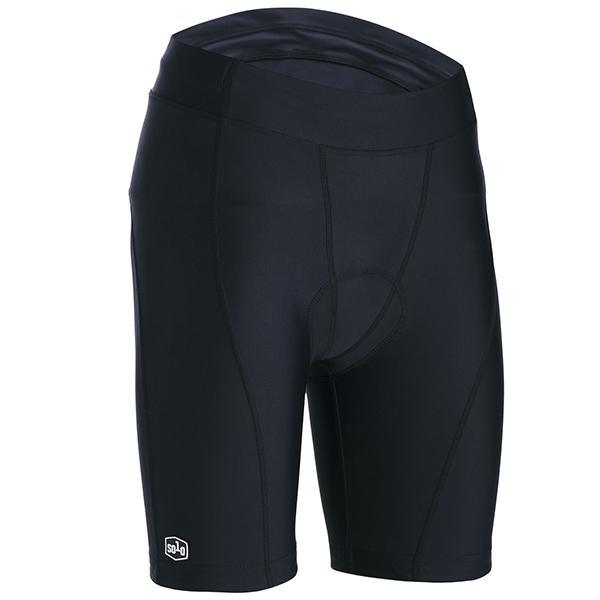 Solo Womens Sport Cycle Short BLK - Pitcrew.nz