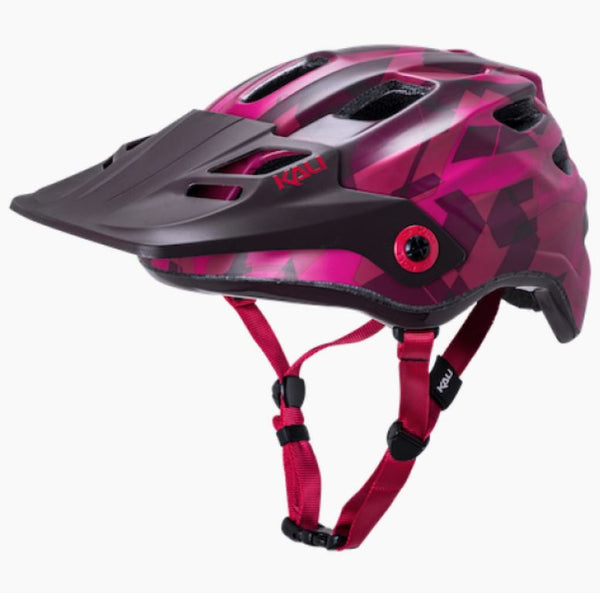 Kali Maya 3.0 Camo Matt Red Burgundy Helmet Bike Parts Kali S/M