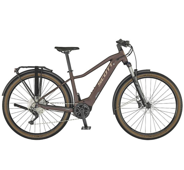 2021 Scott Axis eRide 20 W Brown Bikes Scott XS