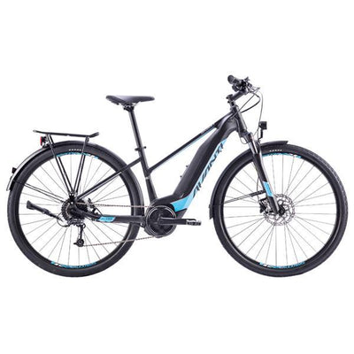 Bike - 2019 Avanti Explorer E Low Black / Cyan - Pitcrew.nz