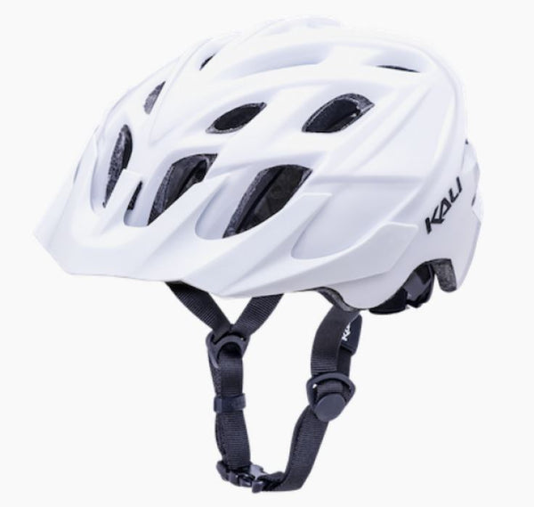 Kali Chakra Solo Solid White Helmet - Pitcrew.nz