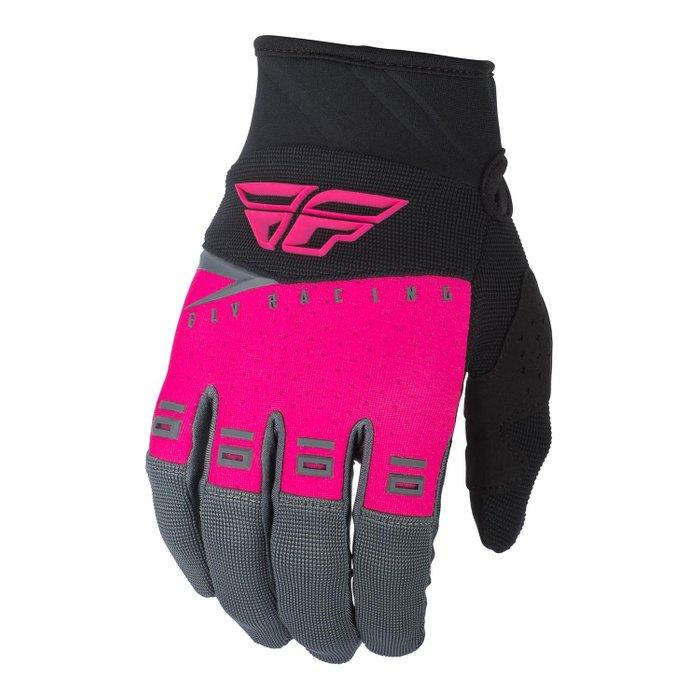 Fly Racing F-16 Gloves Youth Pink - Pitcrew.nz