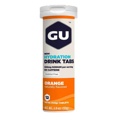 GU Drink Tablets Orange - Pitcrew.nz