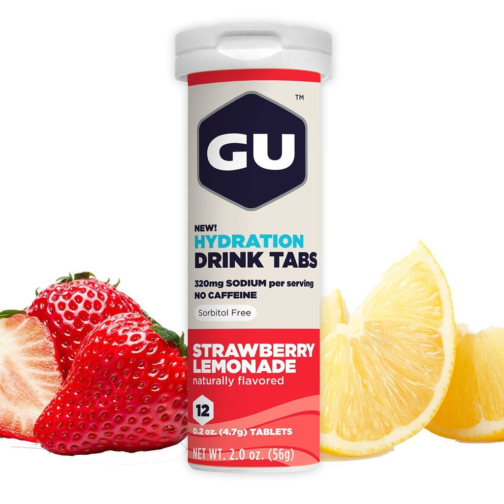 GU Drink Tablets Strawberry Lemonade