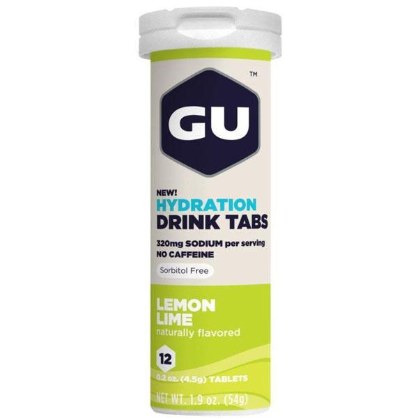 GU Drink Tablets Lemon/Lime - Pitcrew.nz
