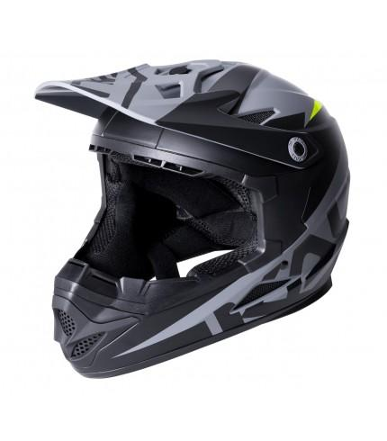 Kali Zoka Full Face Matte Black/Lime Adult - Pitcrew.nz