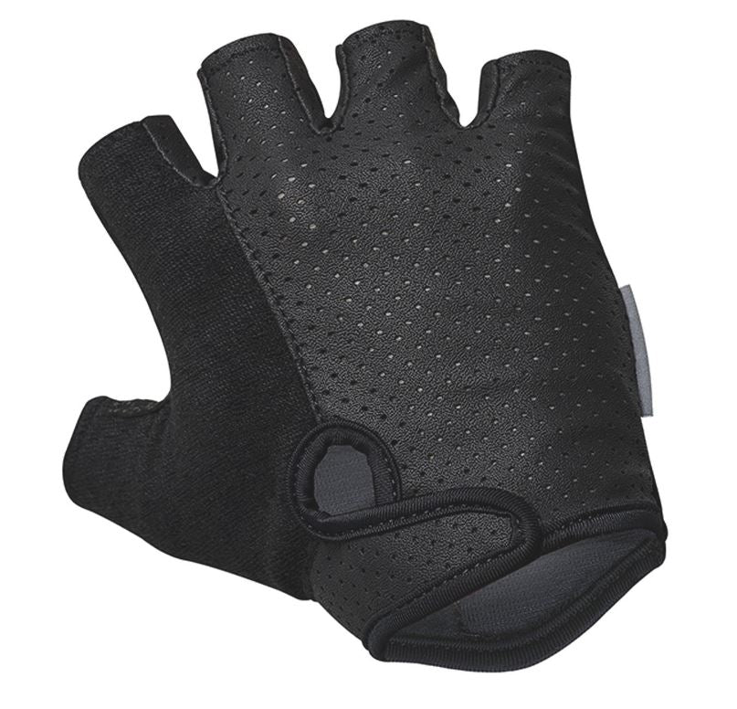Solo Omni Mitt Fingerless Gloves Black - Pitcrew.nz