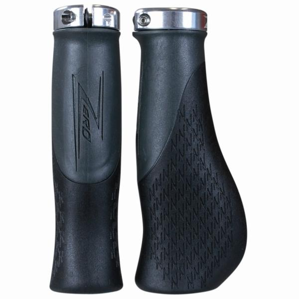 Zero Voyager 2 Locking Handlebar Grips Black/Grey - Pitcrew.nz