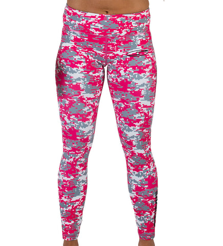 HOLLYWOOD Tights - Pink Camo