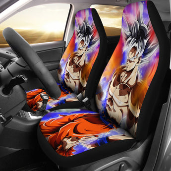 DRAGON BALL CAR SEAT COVERS – the childhood dream