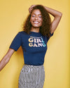 Dazey X Girl Gang Navy Tee