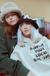 Support Your Local Girl Gang Sand Hoodie