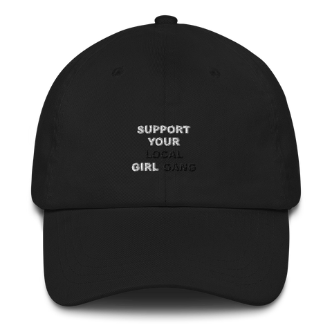 Support Your Girl Embroidered Hat