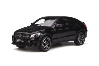 GT Spirit 1/18 Mercedes-AMG GLC 43 Coupe 2019 Obsidian Black GT229