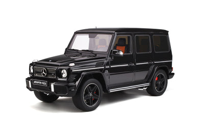 GT Spirit 1/12  Mercedes-Benz AMG G65 V-12 G-Glass G463 Magnetite Black Metallic GT202