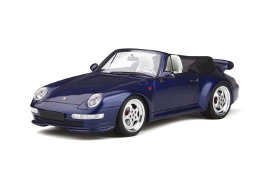 GT Spirit 1:18 Porsche 911 (993) Turbo Cabriolet year 1995 Dark Blue GT257
