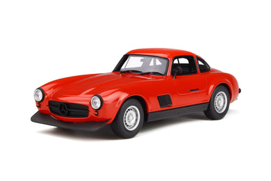 OTTO 1/18 Mercedes-Benz 300SL AMG 1974 Red OT311