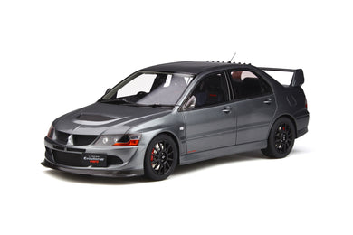 OTTO 1/18 Mitsubishi Lancer Evo 8 MR FQ-400 2005 Gun Metal Grey OT301