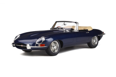 GT Spirit 1/12 Jaguar E-Type Roadster 1961 Dark blue GT219
