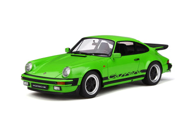 GT Spirit 1/18 Porsche 911 3.2 Carrera 1974 Lime Green GT740
